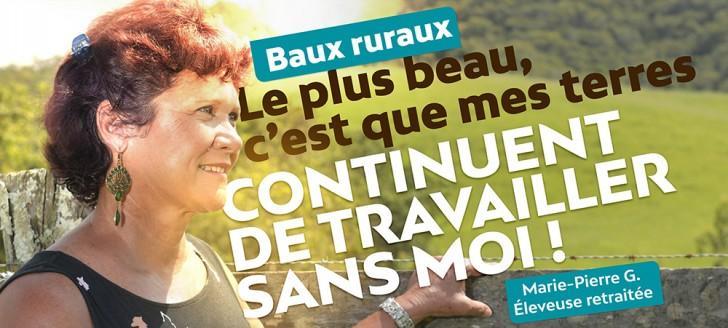 La campagne de sensibilisation sur le bail rural sera déclinée en affiches et en spots radio à partir du 26 mars, puis en ateliers d'information sur le terrain.
