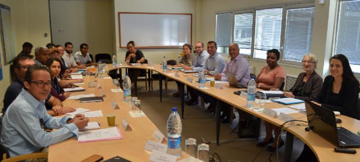 Les membres du comité de coordination territorial, chargés de mettre en œuvre localement le projet PROTEGE, se sont réunis au gouvernement.