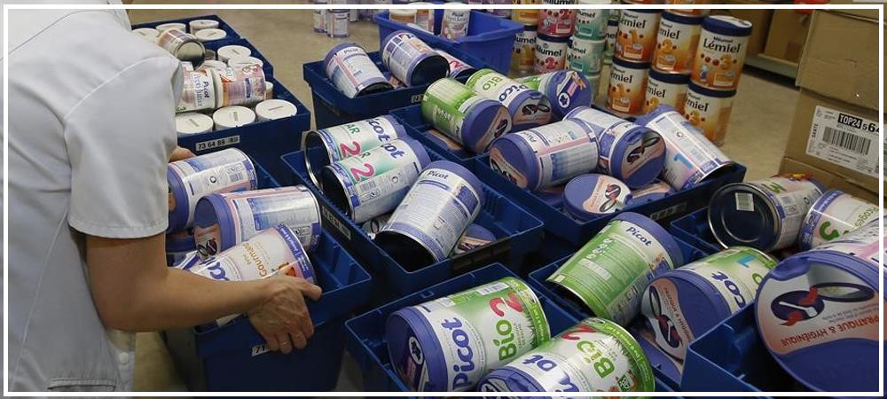 Procédure de rappel sur les produits de nutrition infantile Lactalis